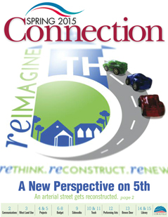 Spring 2015 Connection Cover