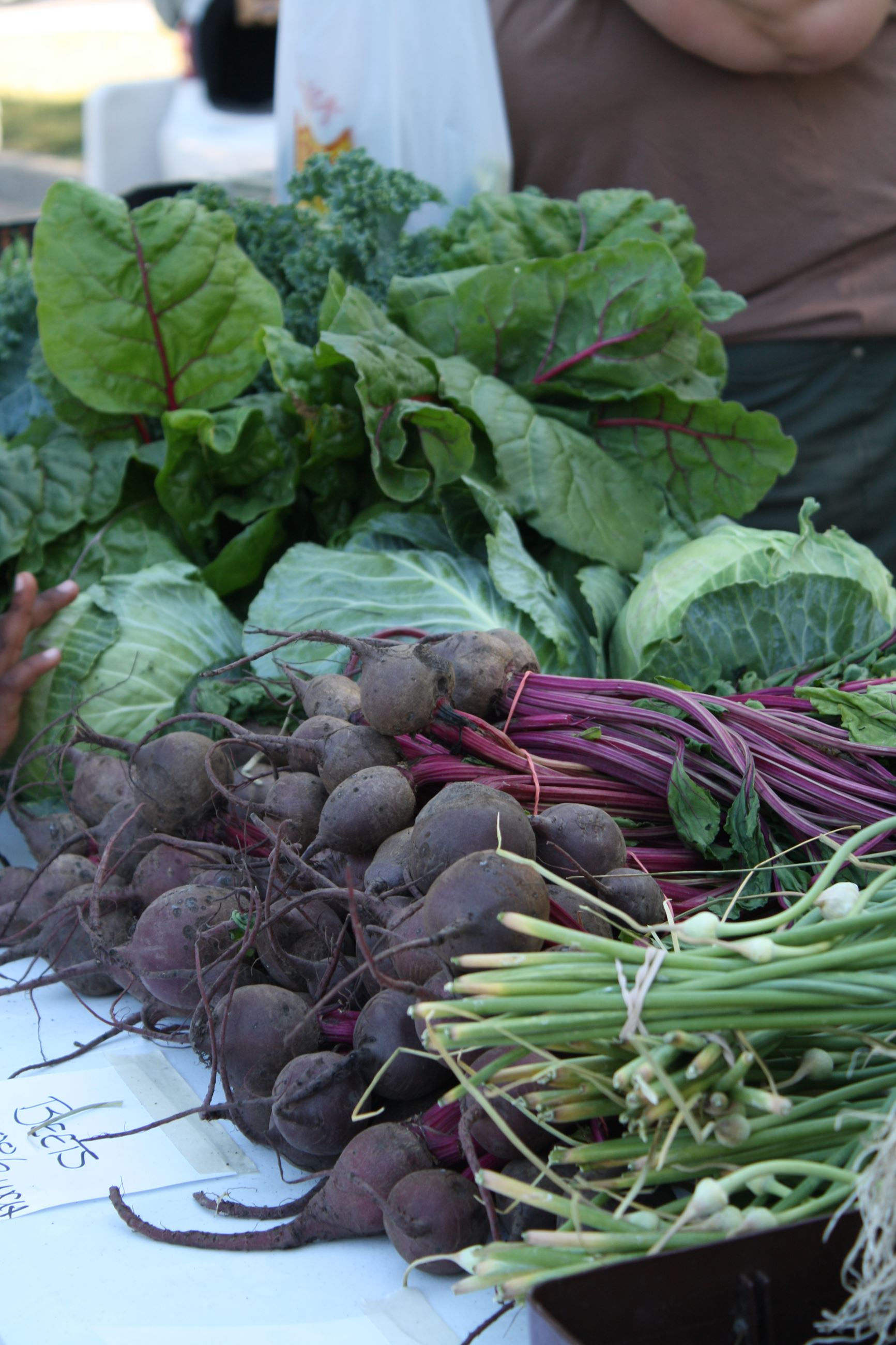 Farmers' Market produce
