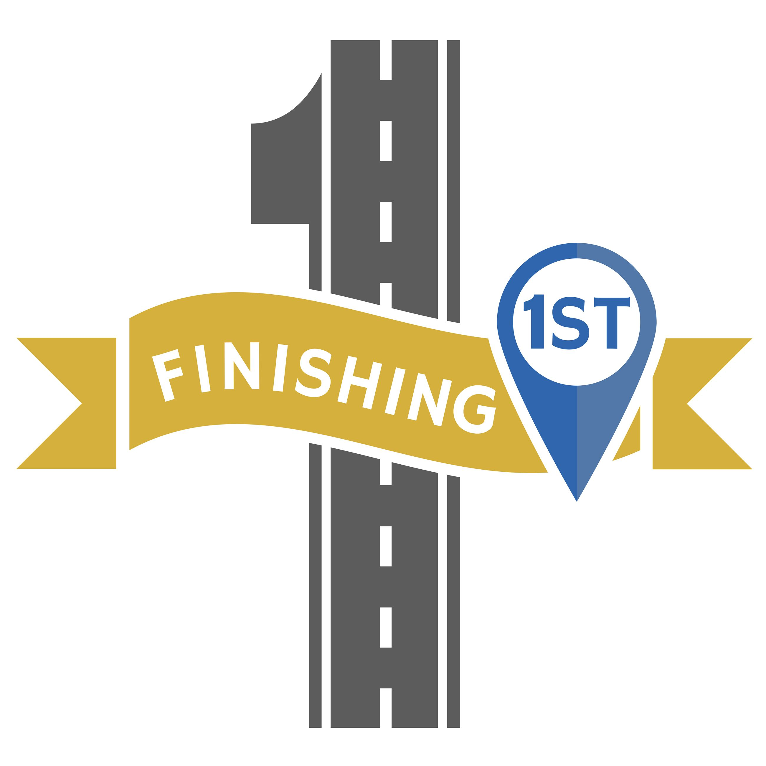 Finishing 1st logo