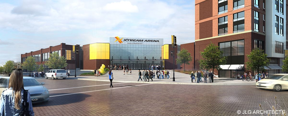 Xtream Arena Exterior Entry